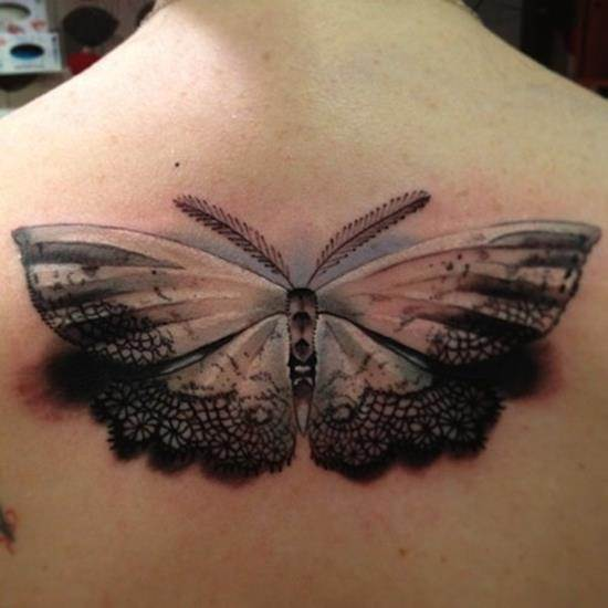 tattoo-3d-lace-moth