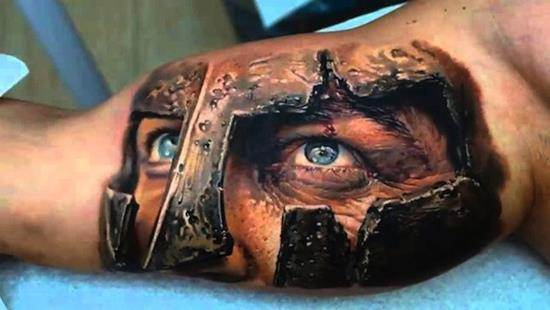 tattoo-3d-soldier