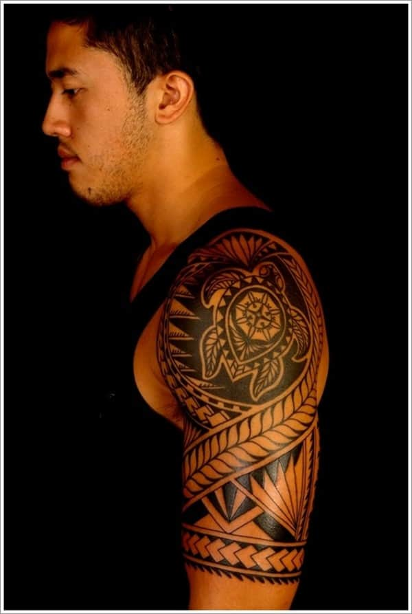 Polynesian-Turtle-Tattoos