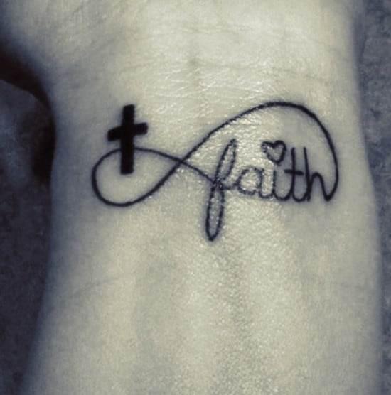 Cross-and-faith-infinity-tattoo-symbols