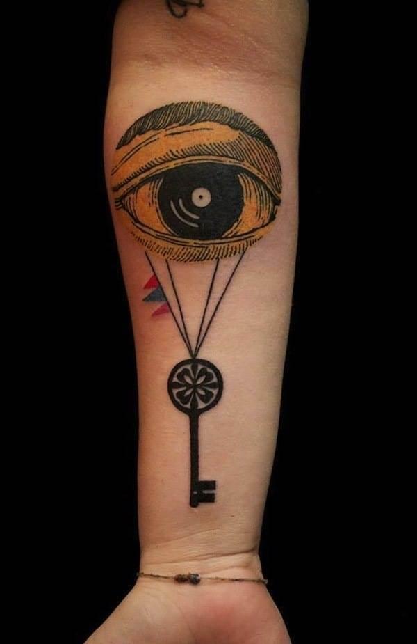 key-tattoo-eye