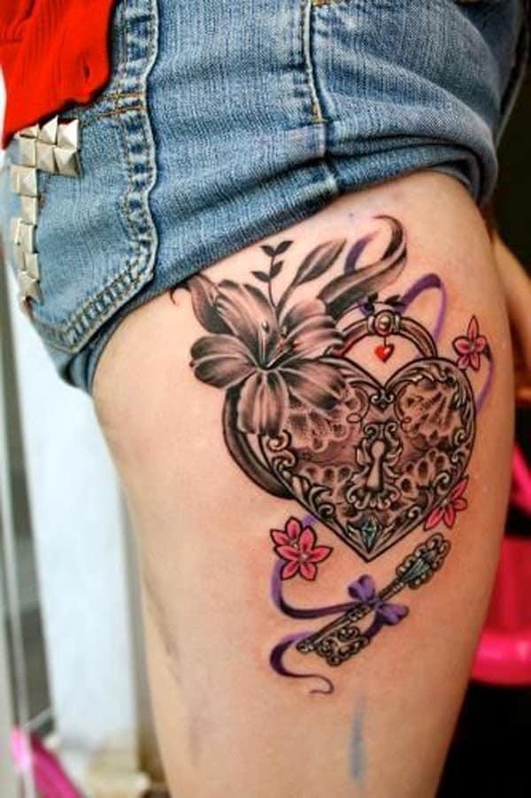 lock-key-tattoo-design-idea-ink79
