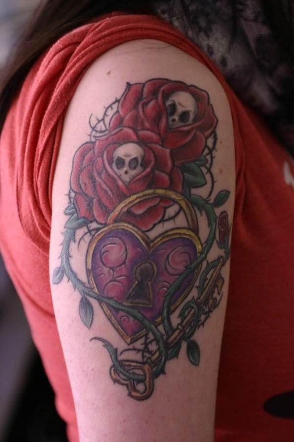 lock-key-tattoo-design-idea-ink86
