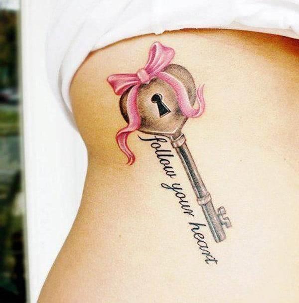 lock-key-tattoo-design-idea-ink205