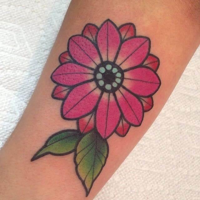daisy tattoos (2)