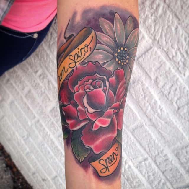 daisy tattoos