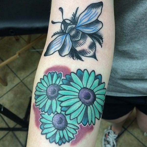 daisy-tattoo-4