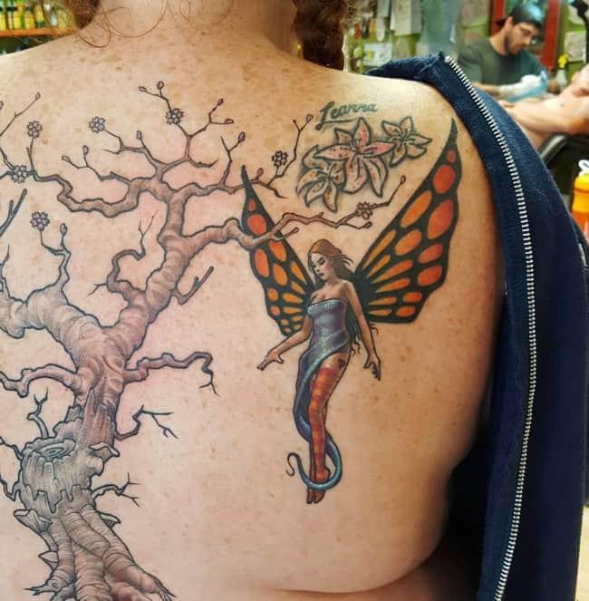 fairy tattoo 21