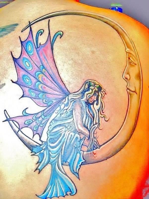 fairy-on-the-moon