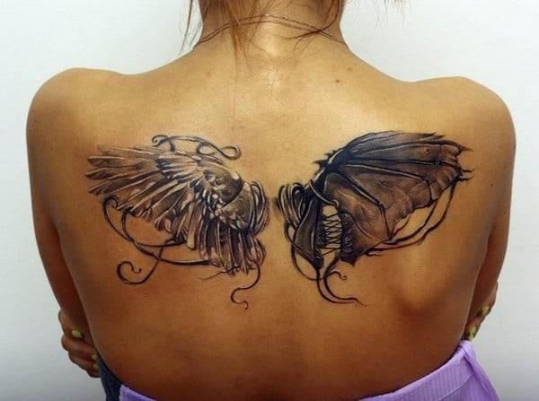Back Tattoo For Women