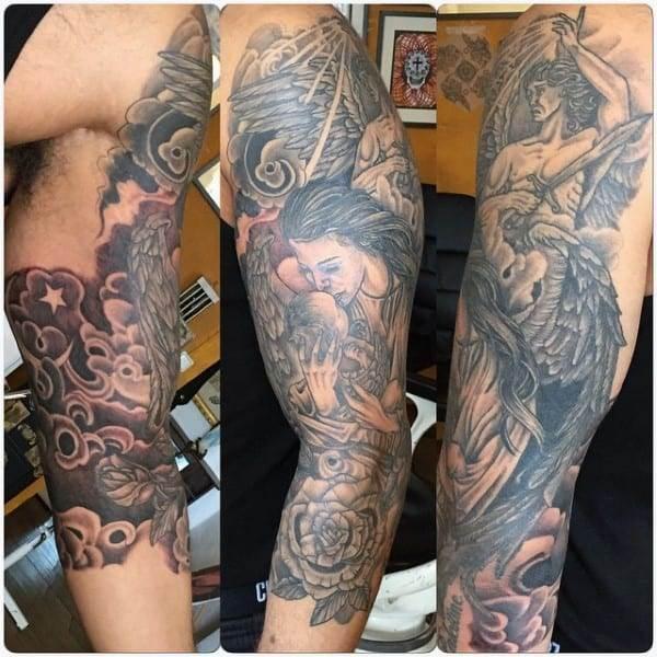 Best Angel Tattoos