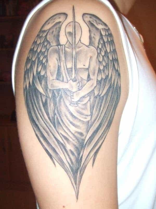 Arm Angel Tattoo