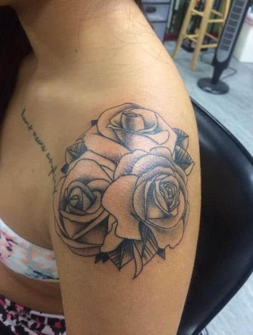 Simple-rose-tattoos