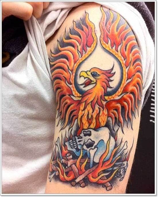 Phoenix-Tattoo-designs-For-Men-1