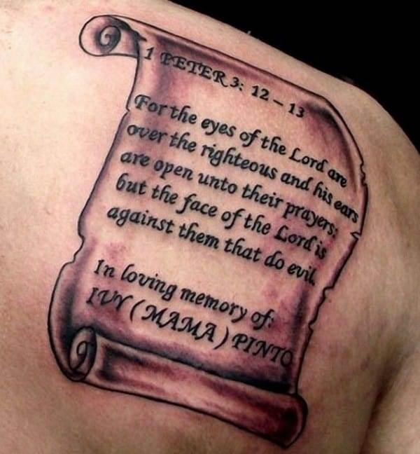 3d tattoos design quotes