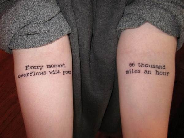 matching tattoos quotes