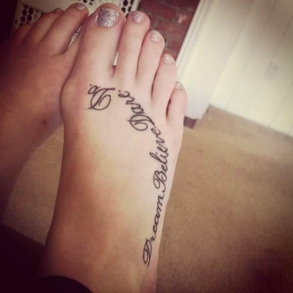tattoos quote dream