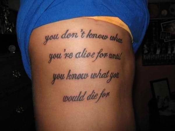 wonderful tattoo quotes