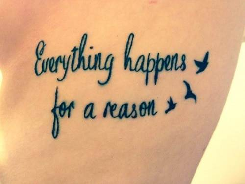Quote Bird Tattoos