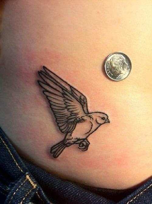 Paradise Bird Tattoo Inspiration