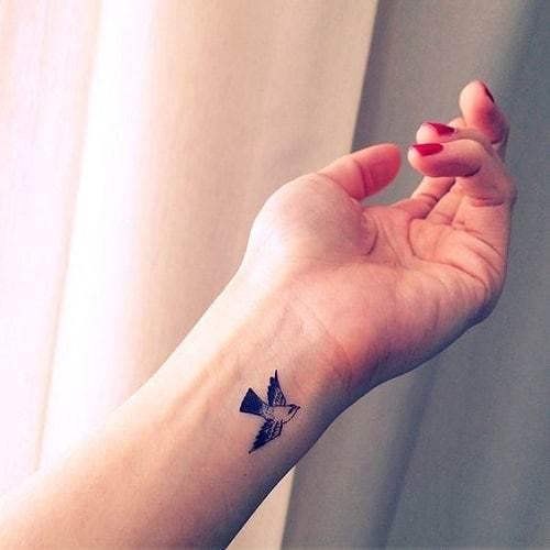 Little Bird Tattoo on Wrist