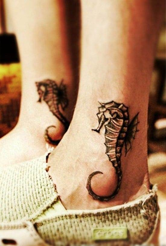 63-Hippocampus-Ankle-Tattoo