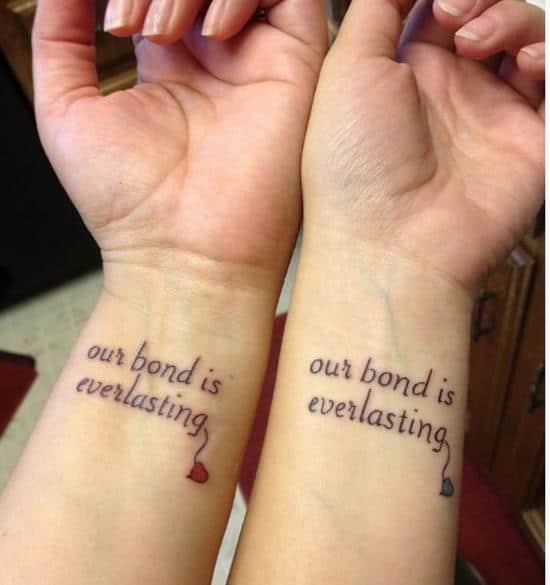 Our-Bond-is-Everlasting-Tattoo
