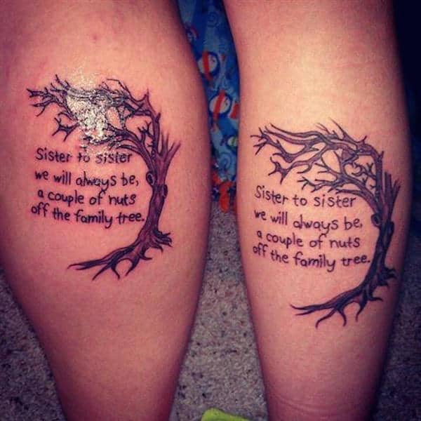 Sister Matching Tattoo Ideas