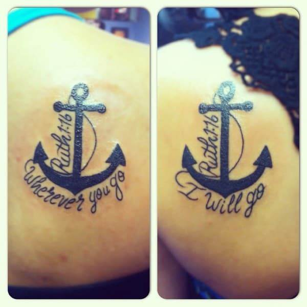 Sister Tattoos Designs