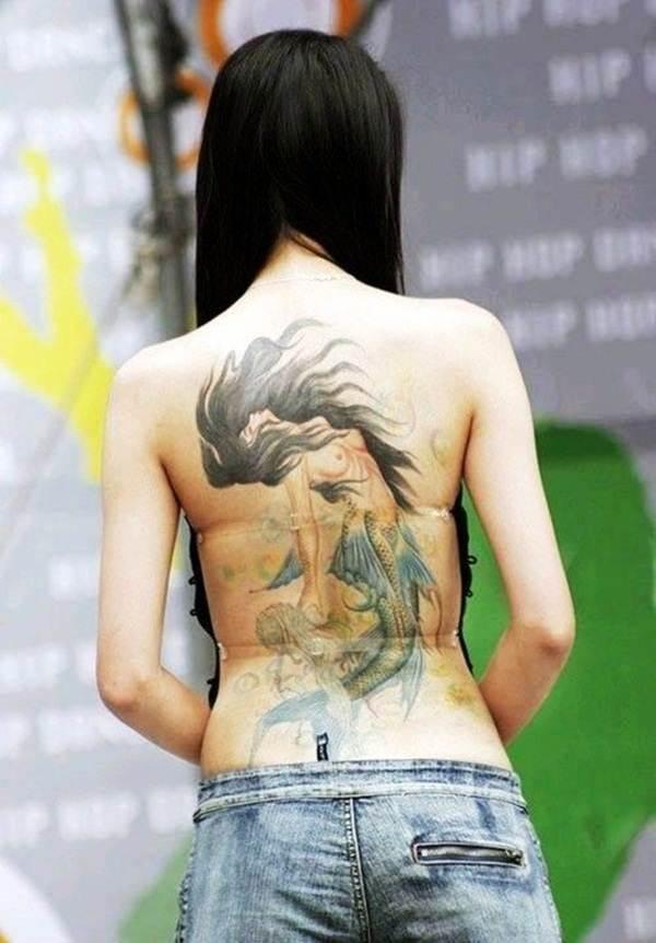 Mermaid Tattoo Designs.23