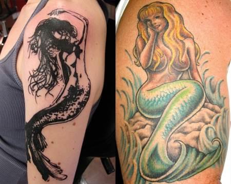 Mermaid Tattoo Designs.29