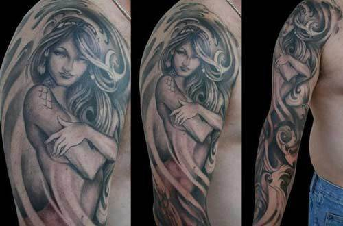 Mermaid Tattoo Designs.31