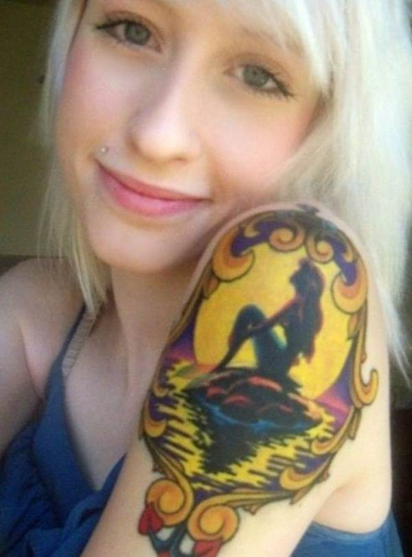 Mermaid Tattoo Designs.34
