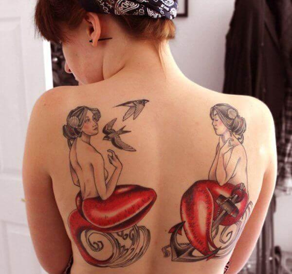 Mermaid Tattoo Designs.42