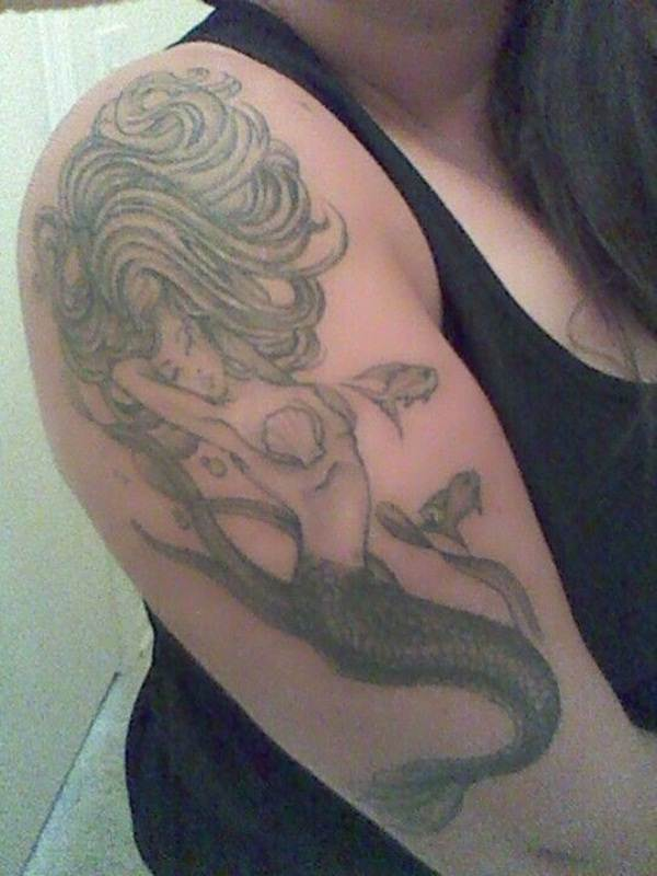 Mermaid Tattoo Designs.43