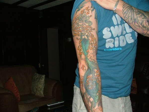 Mermaid Tattoo Designs.45
