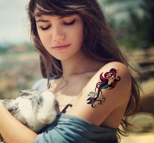 Mermaid Tattoo Designs.47
