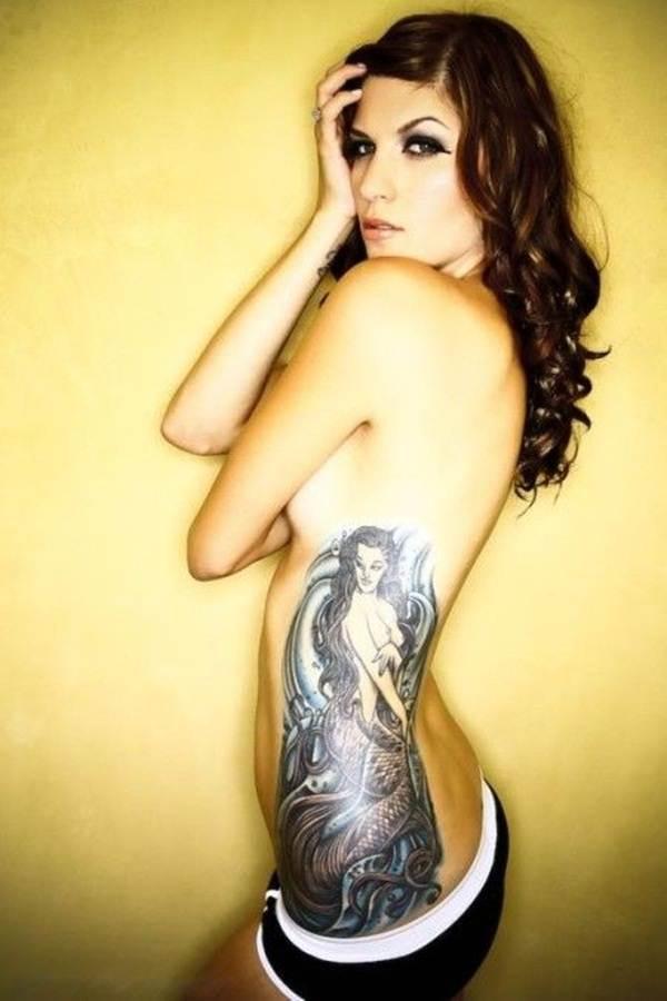 Mermaid Tattoo Designs.12