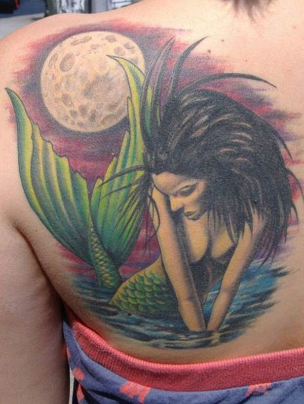 Mermaid Tattoo Designs.15