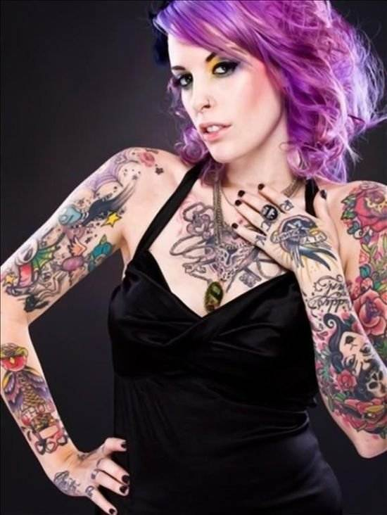 Beautiful Tattoos for Girls.17