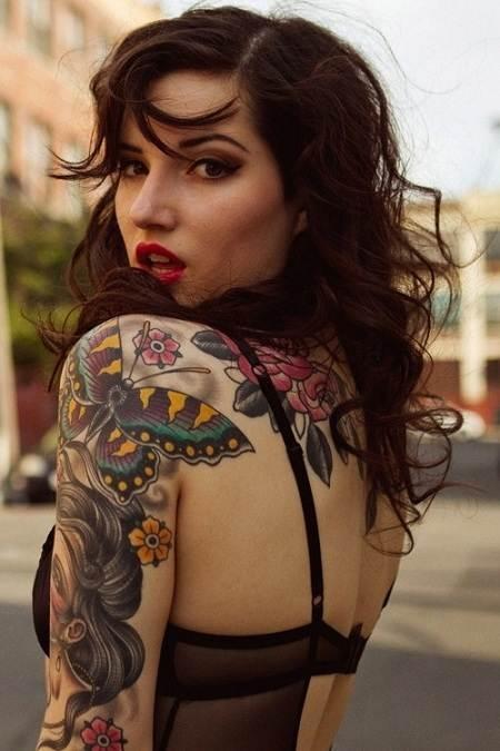 Beautiful Tattoos for Girls.82