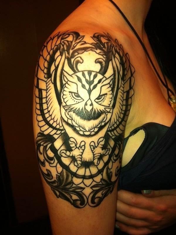 Tribal Tattoos for Women.11