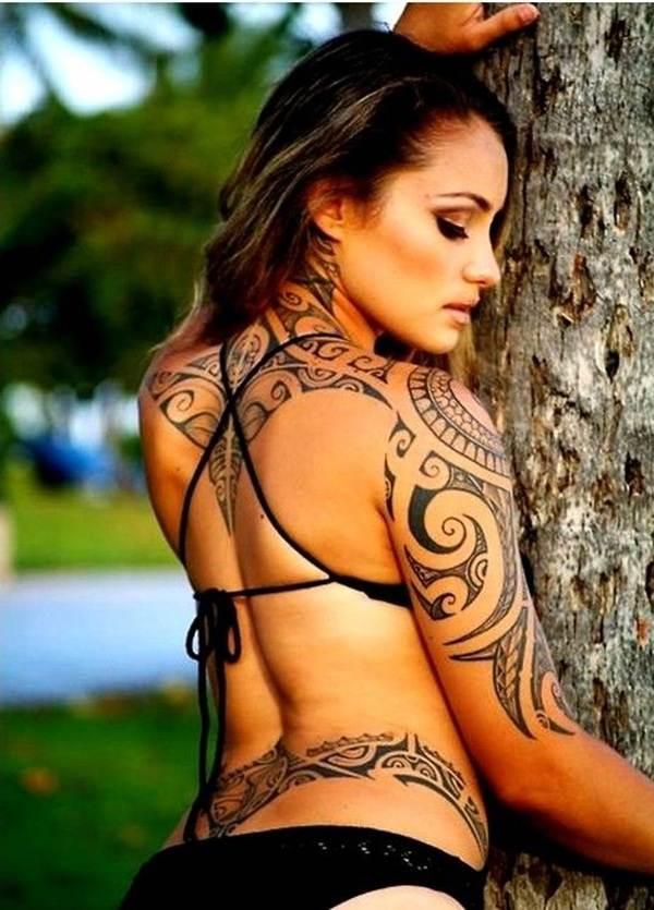 Tribal Tattoos for Women.18