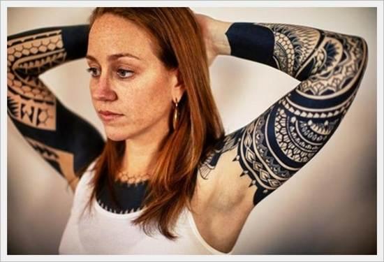 Tribal Tattoos for Women.22