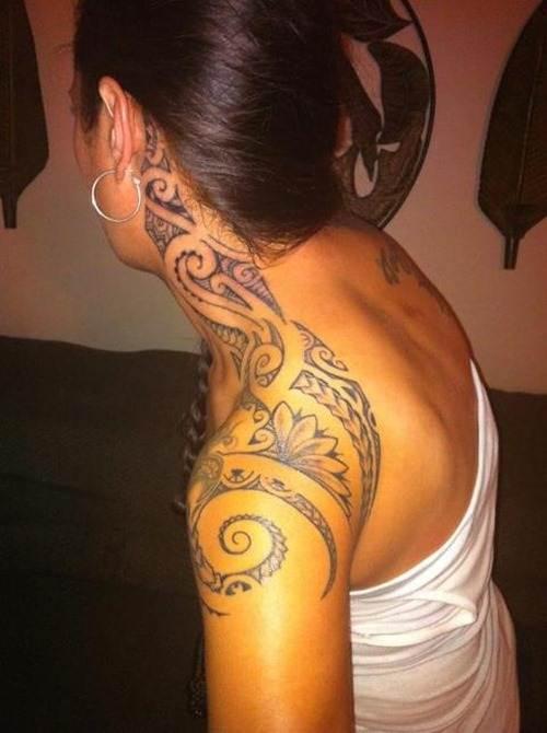Tribal Tattoos for Women.34