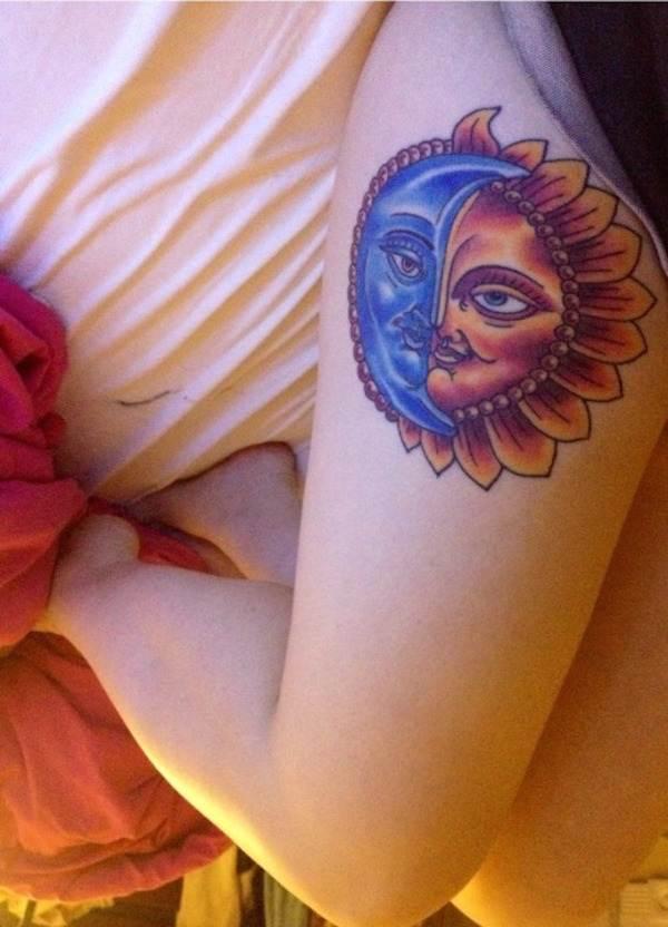Thigh Tattoos for Women.18