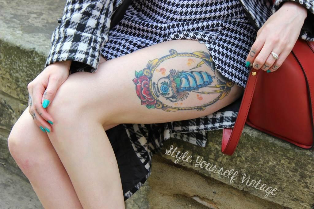 Thigh Tattoos for Women.2