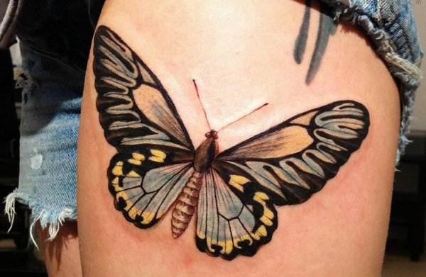 Thigh Tattoos for Women.49