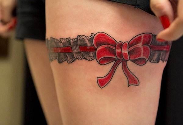 Thigh Tattoos for Women.36