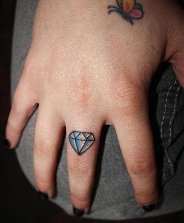 Hand Tattoos for Women.35